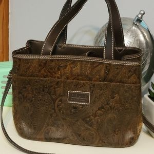 Relic engraved purse